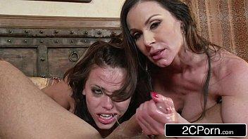 Porno irado com duas mulheres perfeitas para um bom sexo